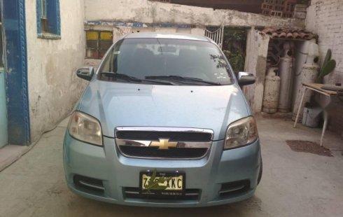 Chevrolet Aveo impecable en Coyoacán más barato imposible