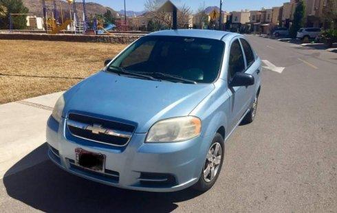 En venta un Chevrolet Aveo 2011 Manual muy bien cuidado