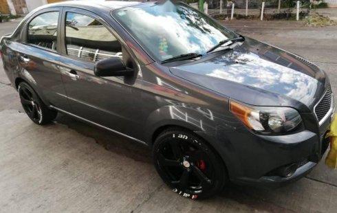 No te pierdas un excelente Chevrolet Aveo 2015 Manual en Guadalajara