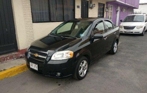 En venta un Chevrolet Aveo 2011 Manual en excelente condición
