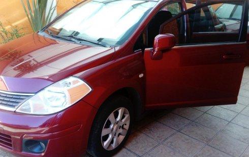 Nissan Tiida 2008 Rojo