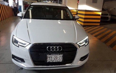 No te pierdas un excelente Audi A3 2017 Automático en Álvaro Obregón