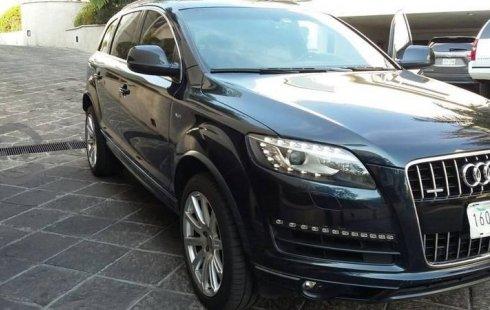 Urge!! En venta carro Audi Q7 2012 de único propietario en excelente estado