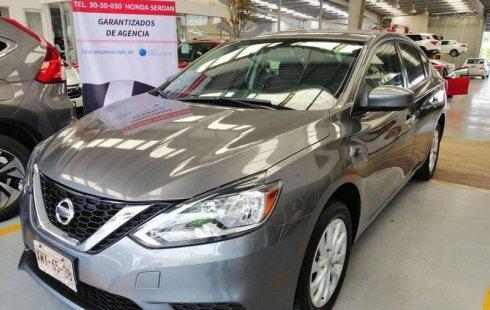 No te pierdas un excelente Nissan Sentra 2017 Manual en Puebla