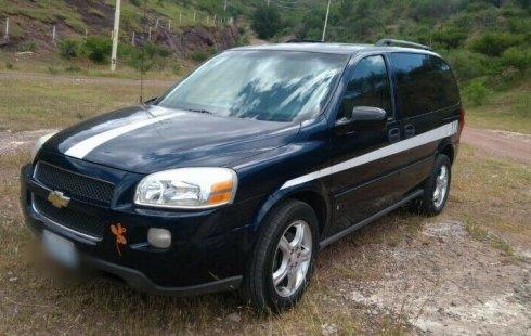 Quiero vender urgentemente mi auto Chevrolet Uplander 2007 muy bien estado