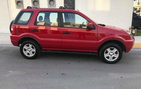 Ford EcoSport 2007 barato en Nuevo León