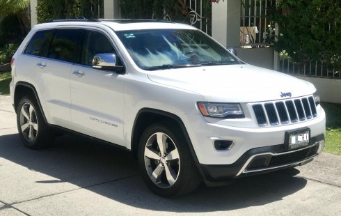 Jeep Grand Cherokee Limited Lujo V8 2014 Impecable