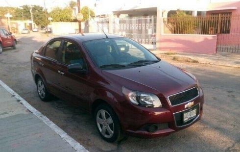 Quiero vender inmediatamente mi auto Chevrolet Aveo 2015