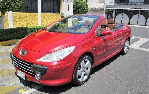 Peugeot 307 CC Convertible edición especial Roland Garros 2009