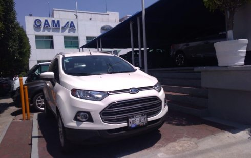 Ford EcoSport impecable en Benito Juárez más barato imposible