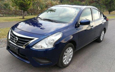 Nissan Versa impecable en Huixquilucan más barato imposible