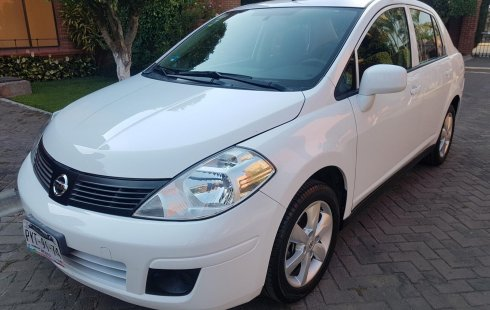 Venta de Tiida Blanco Advance Sedan Manual 2016