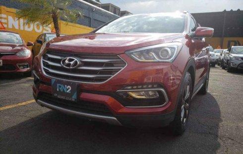 Hyundai Santa Fe 2017 barato en Iztacalco