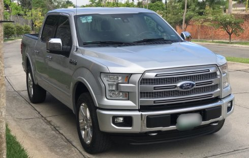 Ford Lobo Platinum 2015 Como Nueva 38 Mil Km