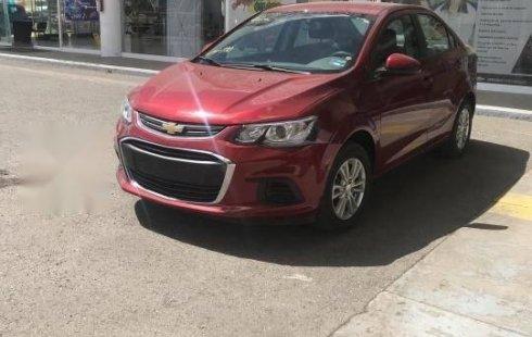 Carro Chevrolet Sonic 2017 de único propietario en buen estado