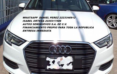 Lujoso Audi A3 2019 Puebla