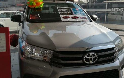 Toyota Hilux 2018 Plata