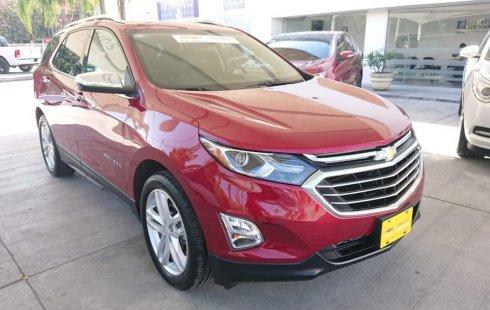 Carro Chevrolet Equinox 2018 de único propietario en buen estado