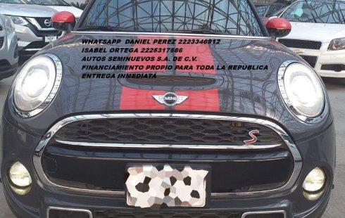 MINI Cooper S AUT 2014 Puebla