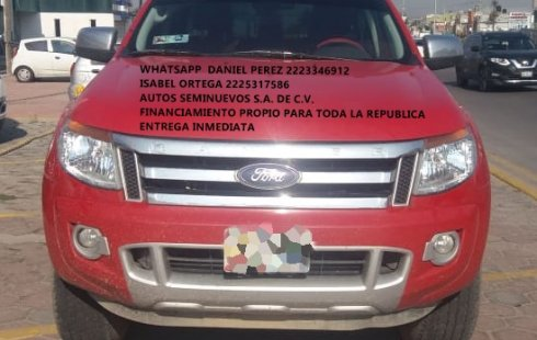 Ranger XLT STD 4 Cil 2015 Puebla