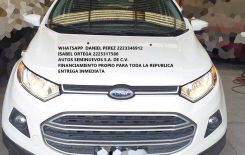 Ecosport STD 2017 Puebla
