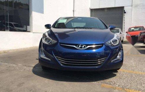 No te pierdas un excelente Hyundai Elantra 2016 Automático en Cuernavaca
