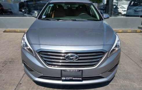 En venta un Hyundai Sonata 2016 Manual en excelente condición