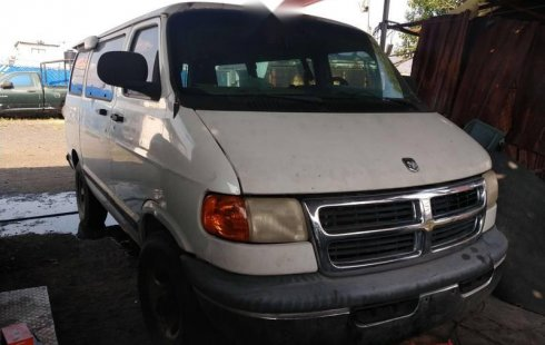 Vendo un Dodge Ram Van impecable