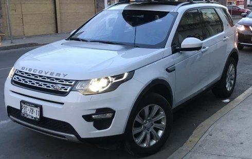 Remate Land Rover Discovery Sport Seminueva 2015