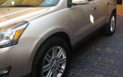 No te pierdas un excelente Chevrolet Traverse 2013 Automático en Gustavo A. Madero