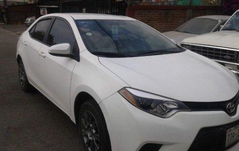 En venta un Toyota Corolla 2014 Automático muy bien cuidado