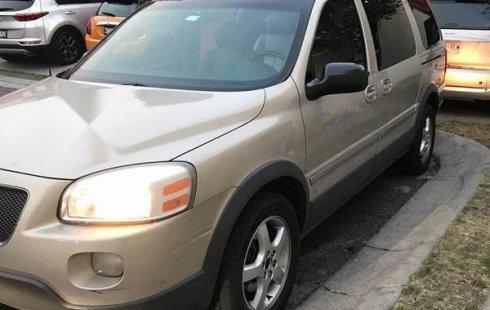 Urge!! En venta carro Pontiac Montana 2007 de único propietario en excelente estado