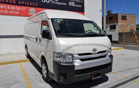 Toyota Hiace impecable en Tlaxcala más barato imposible