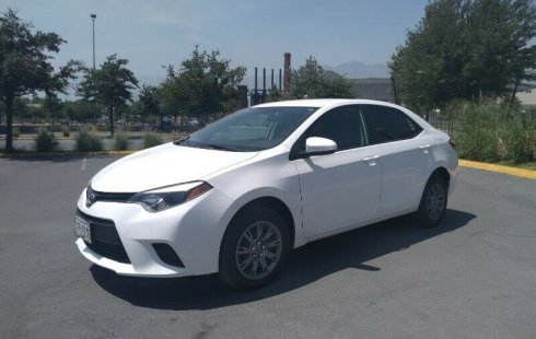 Pongo a la venta un Toyota Corolla en excelente condicción