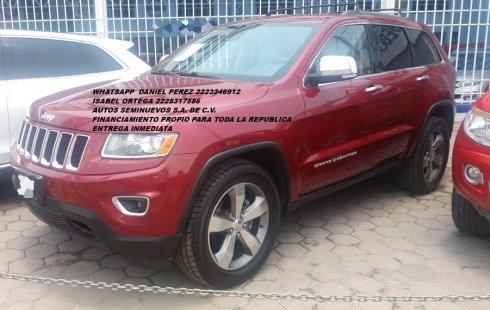 Grand Cherokee V6 2014 Puebla