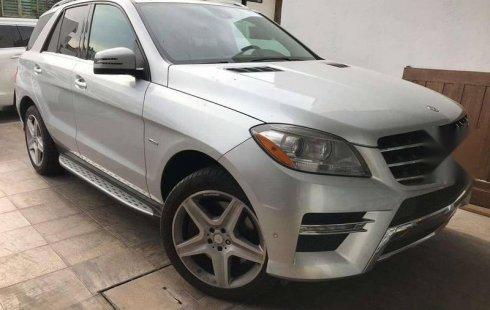 No te pierdas un excelente Mercedes-Benz ML 350 2012 Automático en Zapopan