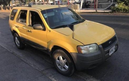 Ford Escape impecable en Zapopan más barato imposible