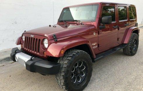 No te pierdas un excelente Jeep Wrangler 2012 Automático en Mérida