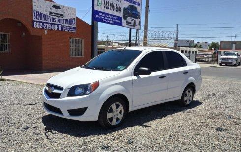Chevrolet Aveo 2018 color blanco