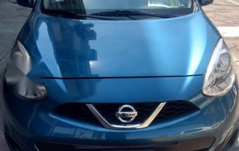 Carro Nissan March 2016 de único propietario en buen estado