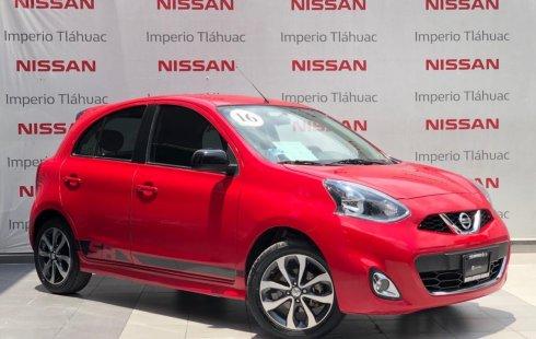 Un Nissan March 2016 impecable te está esperando