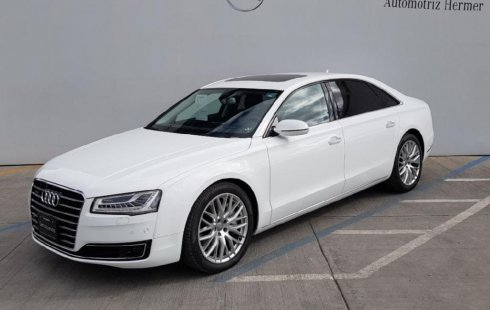 Me veo obligado vender mi carro Audi A8 2018 por cuestiones económicas