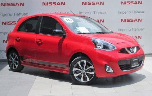 Urge!! Vendo excelente Nissan March 2016 Manual en en Tláhuac