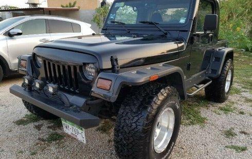 Quiero vender inmediatamente mi auto Jeep Wrangler 2000 muy bien cuidado