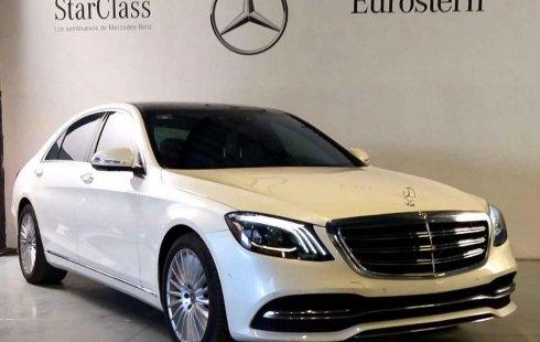 SHOCK!! Un excelente Mercedes-Benz Clase S 2018, contacta para ser su dueño