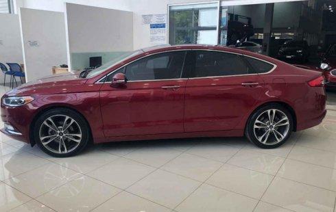 Quiero vender inmediatamente mi auto Ford Fusion 2017 muy bien cuidado