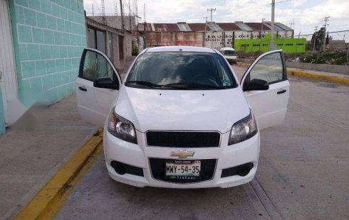 Se vende urgemente Chevrolet Aveo 2016 Manual en Texcoco