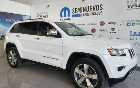 Jeep Grand Cherokee 2015 usado en San Luis Potosí