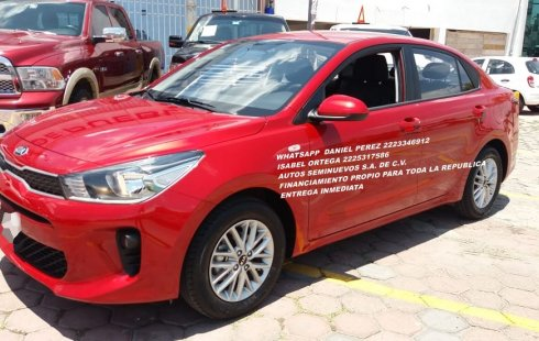 KIA RIO Sedan STD 2020 Puebla