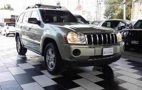 Quiero vender inmediatamente mi auto Jeep Grand Cherokee 2007 muy bien cuidado